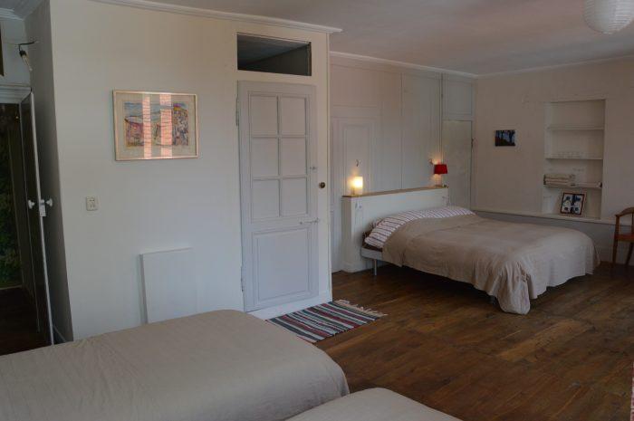 gastenkamer met 4 bedden