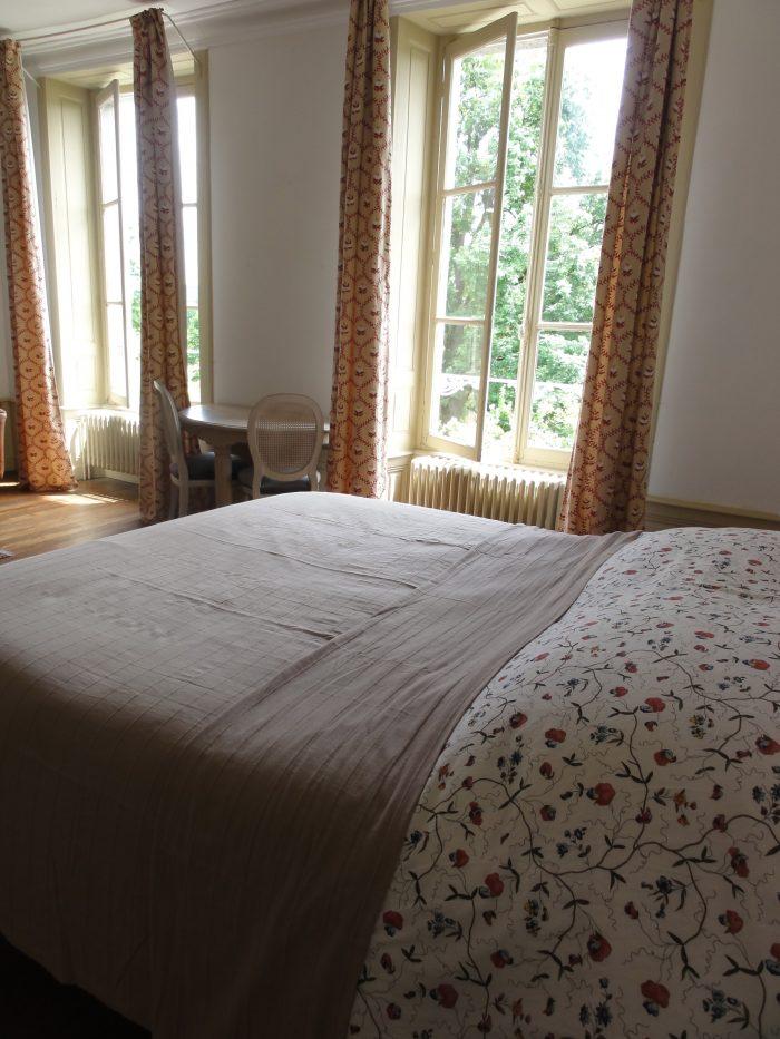 opgemaakt bed